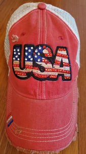 Bling On, USA! Ball Cap