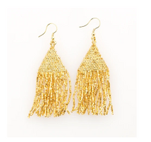 Load image into Gallery viewer, Petite Fringe Earrings-6 Colors