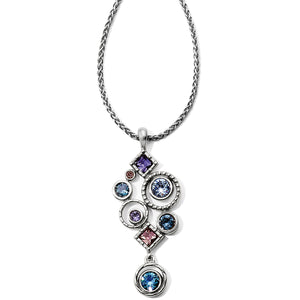 Halo Aurora Drop Necklace