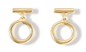 UNO DE 50 On/Off Earrings-Gold