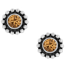 Load image into Gallery viewer, BRIGHTON Twinkle Mini Post Earrings-Topaz