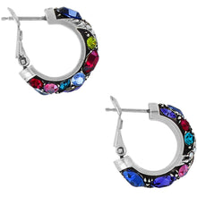 Load image into Gallery viewer, BRIGHTON Trust Your Journey Hoop Earrings