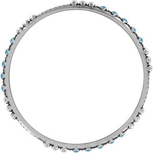 BRIGHTON Southwest Dream Trail Slim Bangle