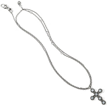 Load image into Gallery viewer, BRIGHTON Twinkle Convertible Cross Necklace