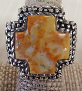 DIAN MALOUF Cross Ring