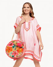 Load image into Gallery viewer, SPARTINA 449 Kaftan Blush Stripe