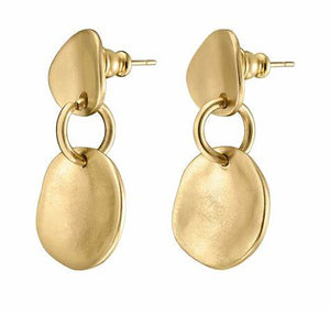 UNO DE 50 Scales Earrings-Gold