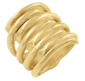 UNO DE 50 Tornado Ring-gold