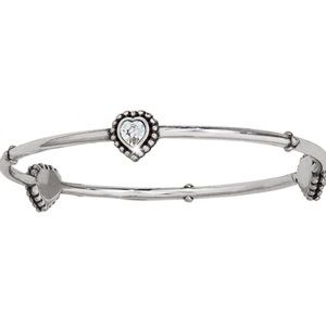 BRIGHTON Twinkle Heart Bangle