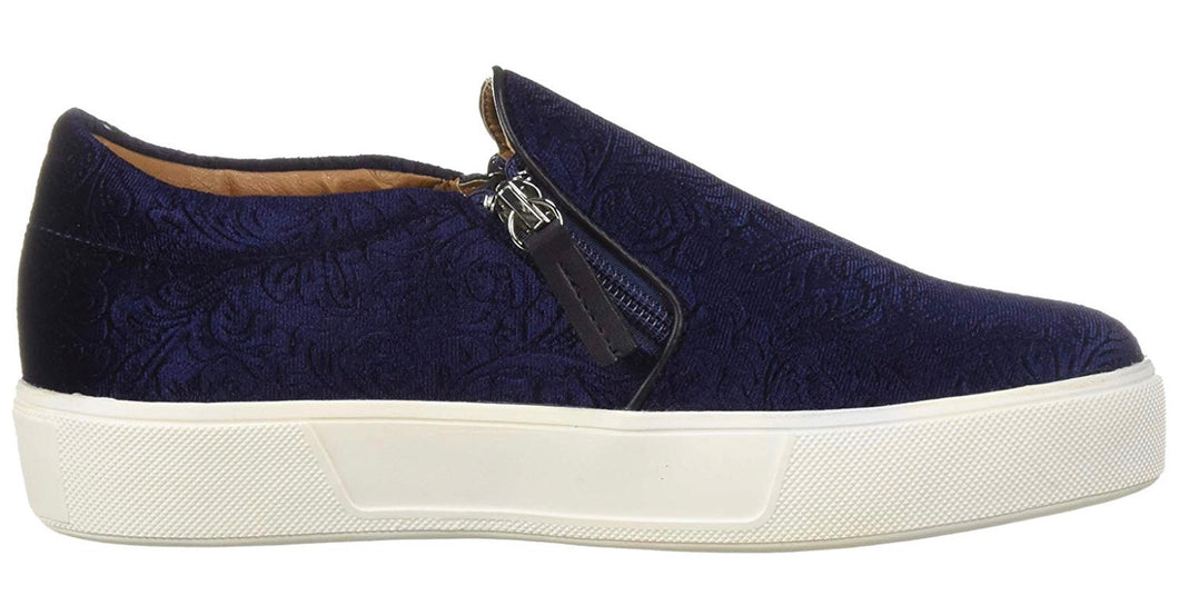 VOLATILE Floral Embossed Pull on Sneaker