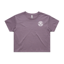 Load image into Gallery viewer, Wilkins Training & Nutrition Crop Tee - Mauve