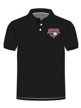 Load image into Gallery viewer, Aquatic Stingrays - Polo Royal Black