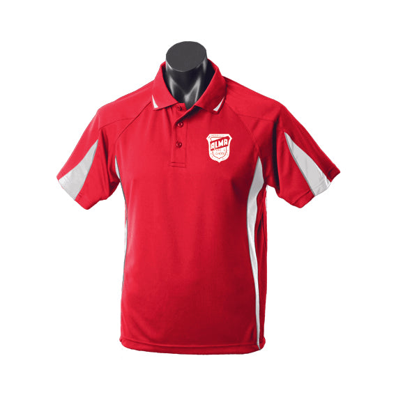 Alma Primary School Polo - Red