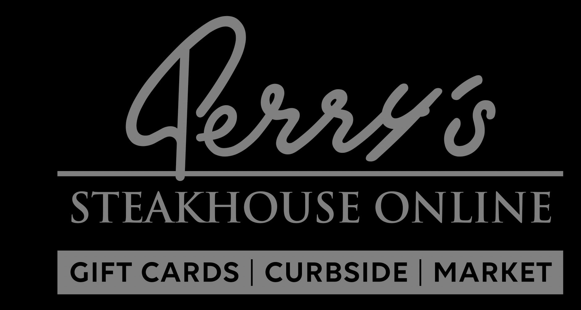 Perry's Steakhouse & Grille - Rare and Well Done Logo