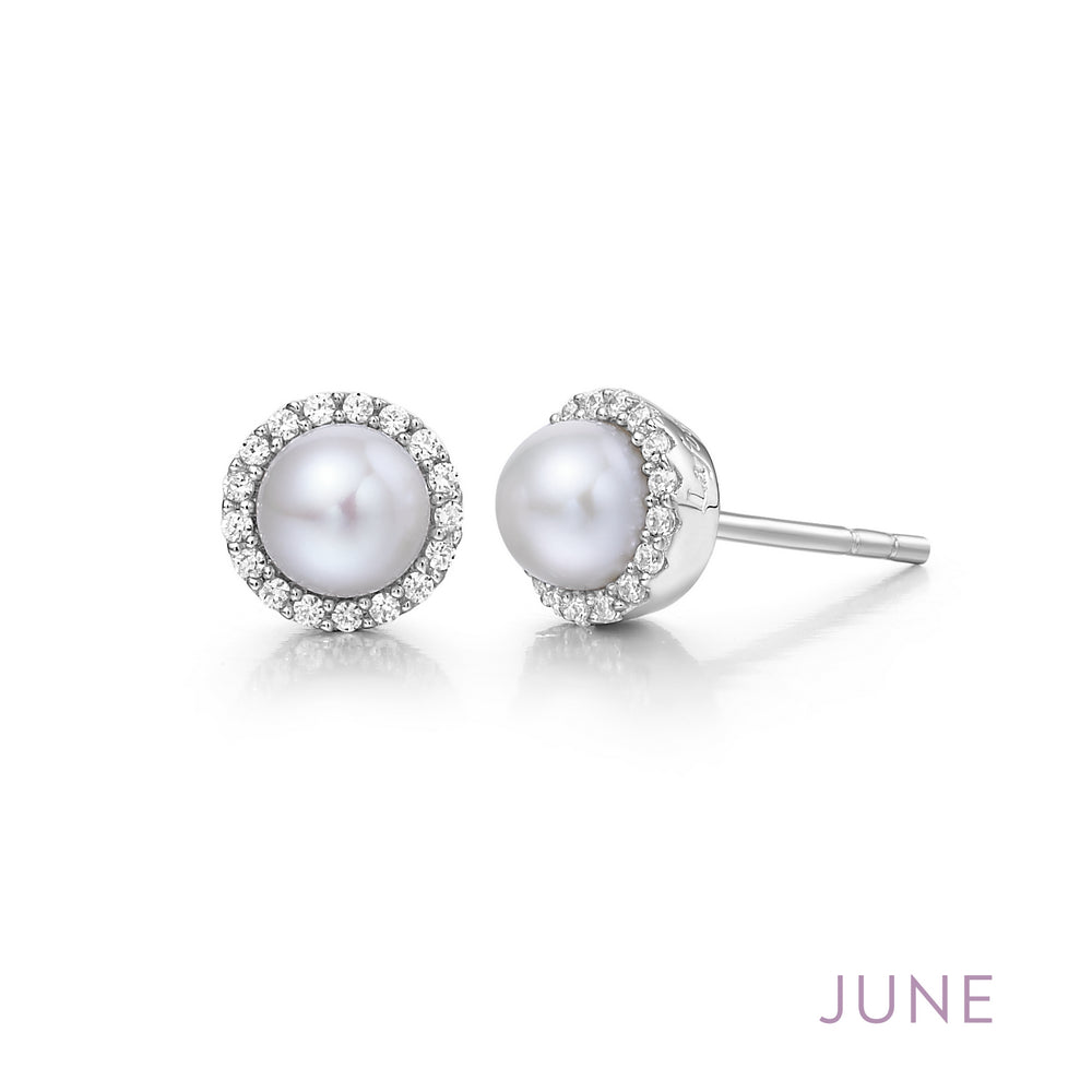 Pearl Earrings, June Birthstone