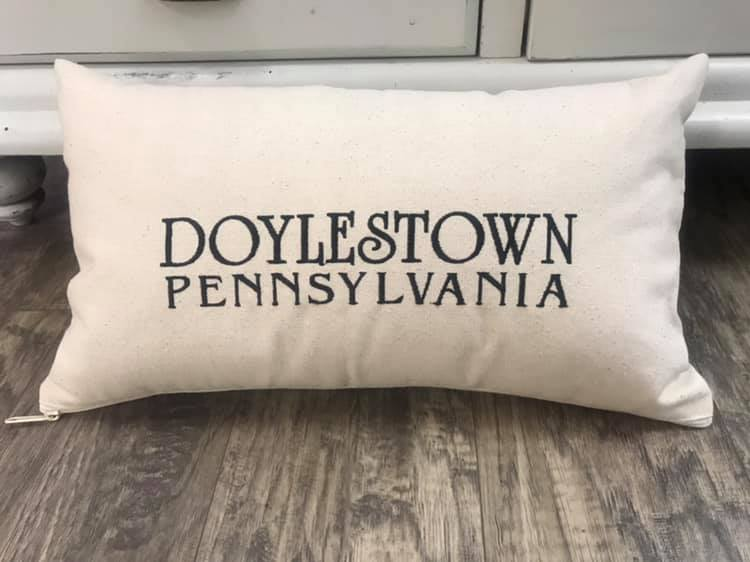City + State Pillow - Custom Made