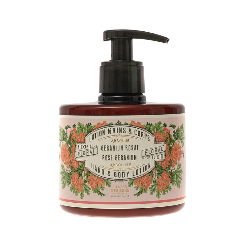 Rose Geranium - Hand and Body Lotion, 300ML