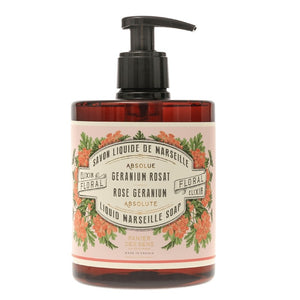 Rose Geranium - Liquid Marseille Soap, 500ML