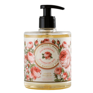 Rejuvenating Rose - Liquid Marseille Soap, 500ML