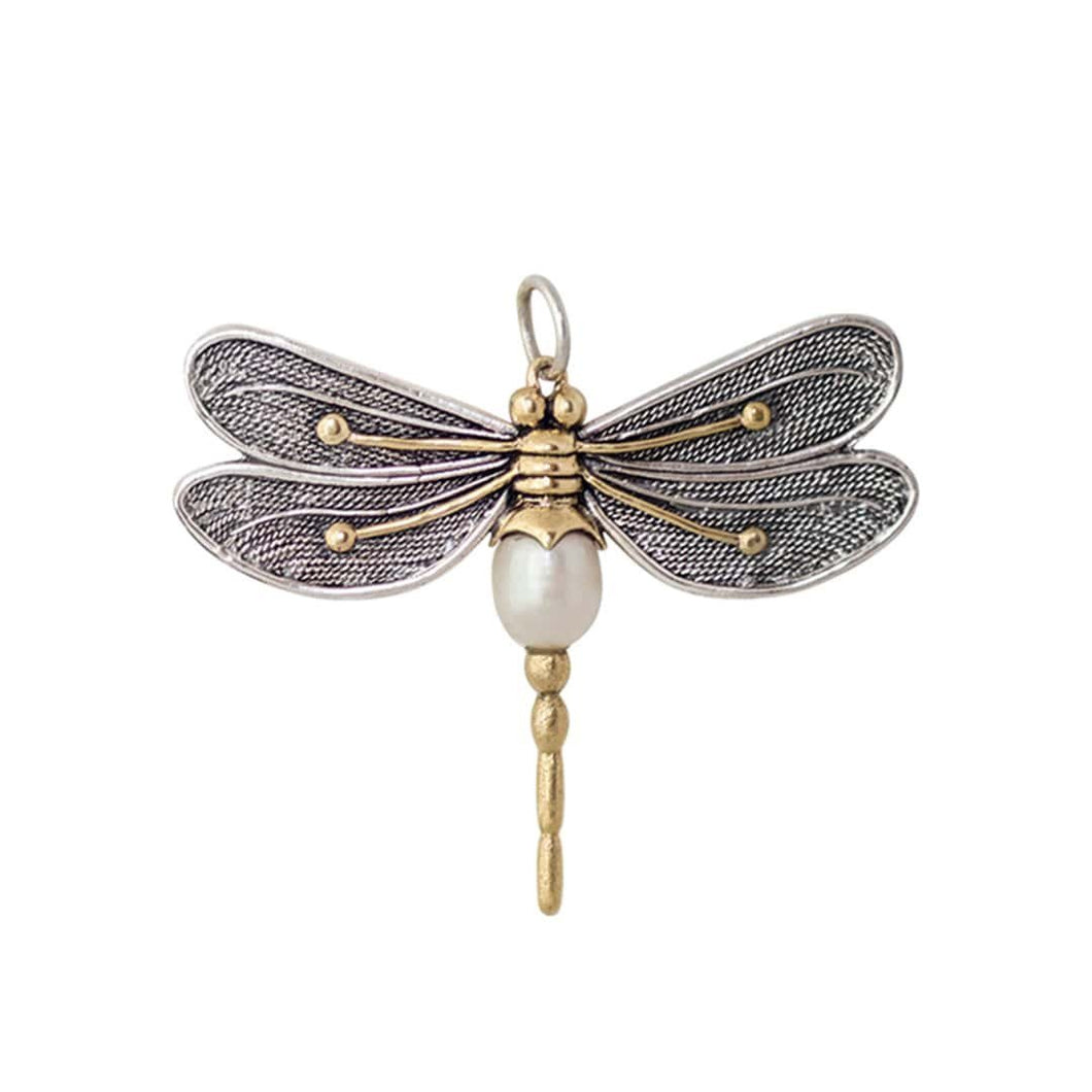 Transformative Dragonfly Pendant with 28