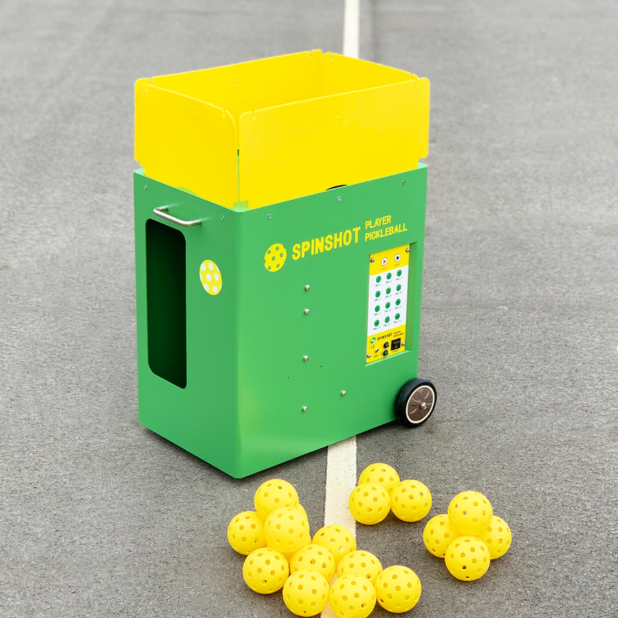 Spinshot Pickleball Machine - Spinshot Sports US