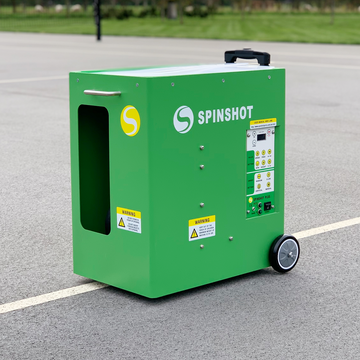 Spinshot Plus Tennis Ball Machine - Spinshot Sports US