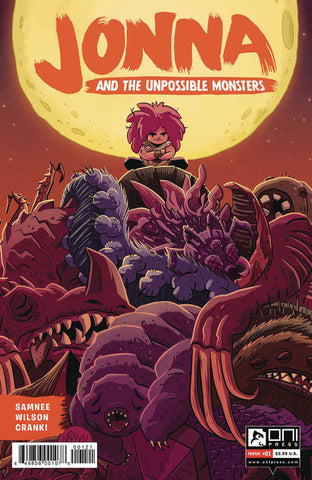 Jonna And The Unpossible Monsters #1 Cover B Maihack