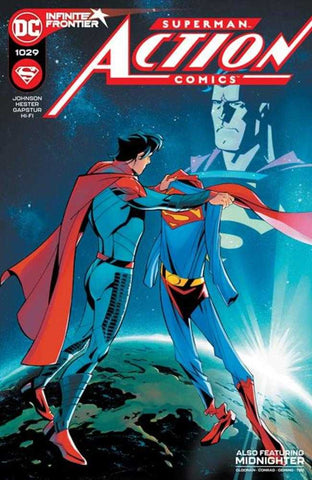 Action Comics #1029 Cover A Phil Hester & Eric Gapstur