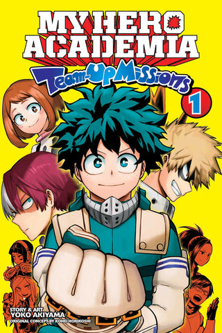 My Hero Academia Team-Up Missions Graphic Novel Volume 01