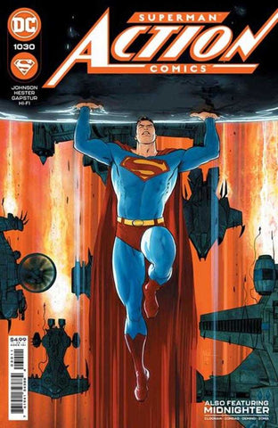 Action Comics #1030 Cover A Mikel Janin