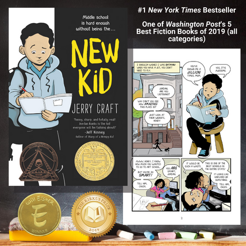 New Kid Learn-At-Home Pack (Grades 5-8)