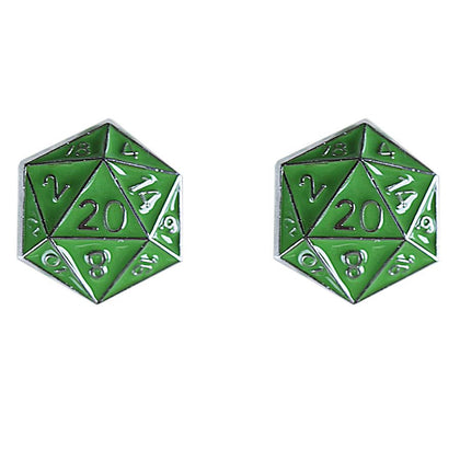 D20 Stud Earrings