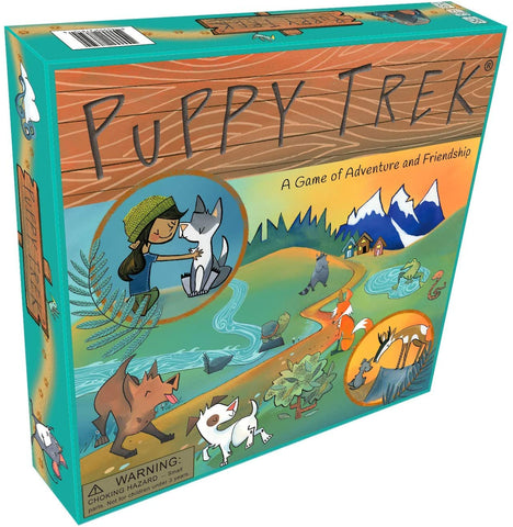 Puppy Trek - Adventure Board Game for Young Children
