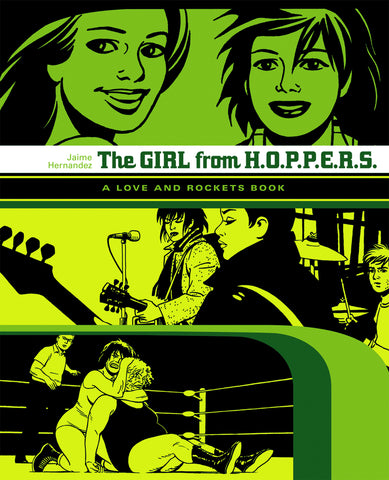 Love & Rockets Library Jaime GN Vol 02 Girl From Hoppers