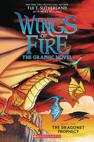 WINGS OF FIRE SC GN VOL 01 DRAGONET PROPHECY (C: 0-1-0)