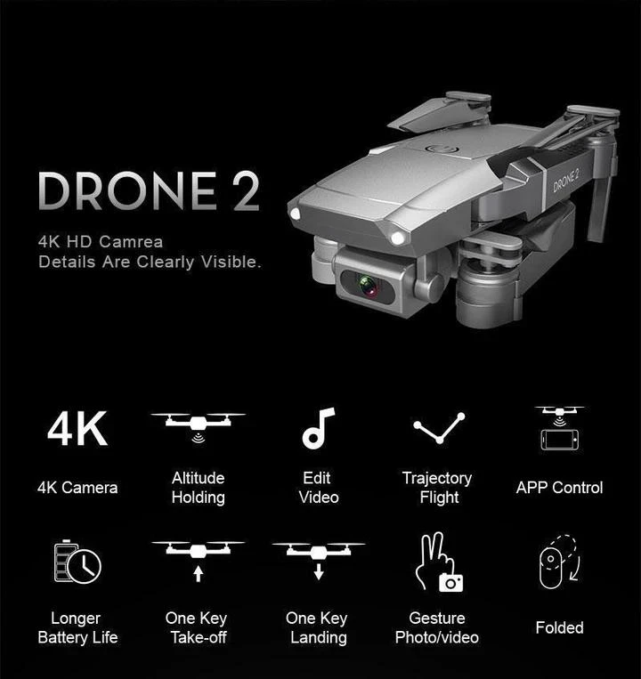 Free Shipping Best Foldable Drone With 1080P HD Camera