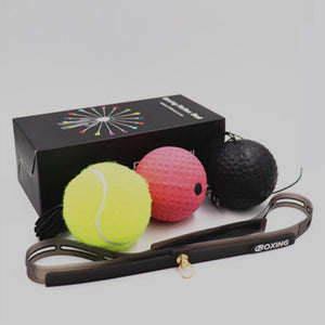 Boxing reaction ball package