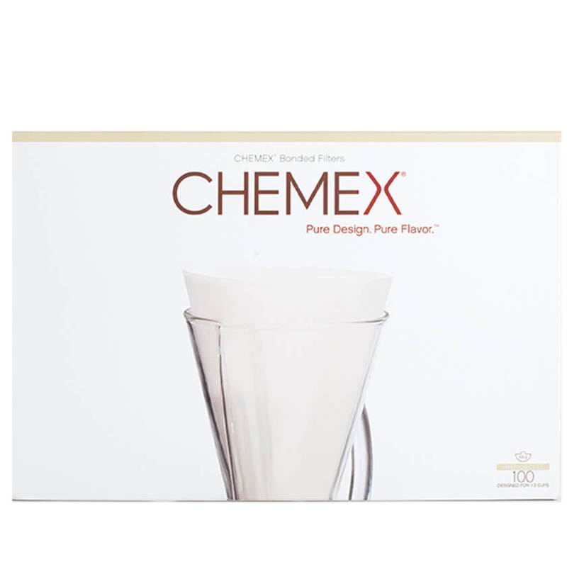 Chemex 3 Cup Filter Folded Papers 100