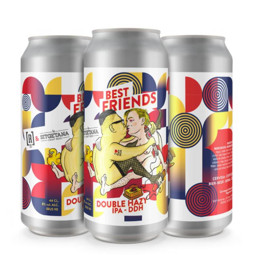 Best Friends - 12 latas de 44cl - Rec Brew