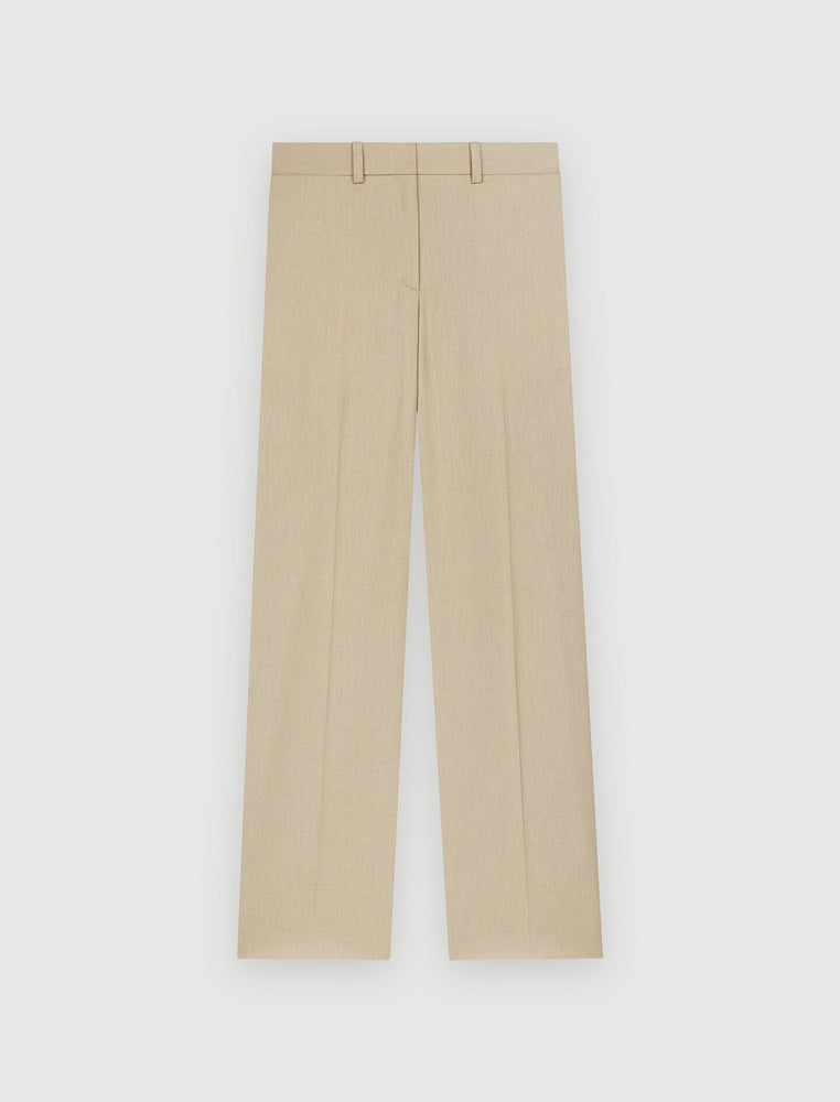 WIDE LEG SUIT TROUSERS