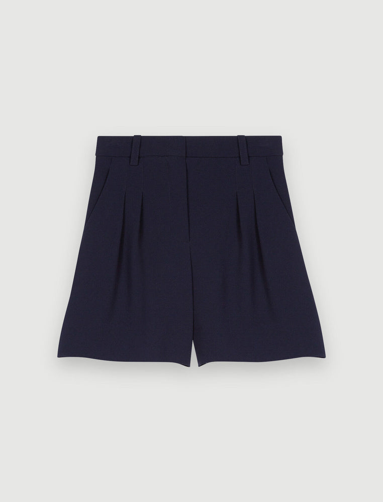 Load image into Gallery viewer, BASIC SHORTS IN SATIN-BACKED CRÊPE