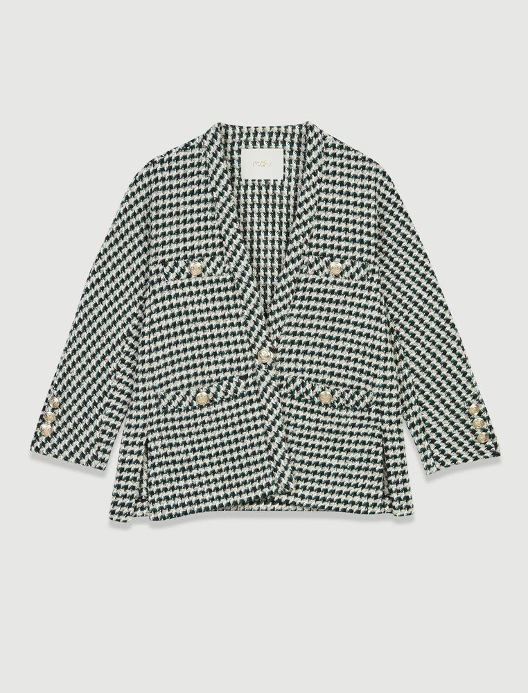 TWEED CARDIGAN-INSPIRED JACKET