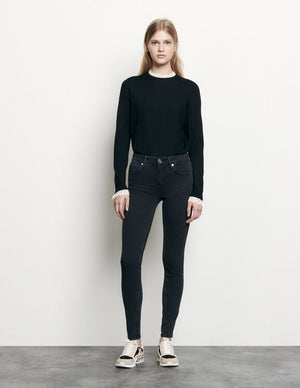 SLIM JEANS WITH REGULAR WAIST
