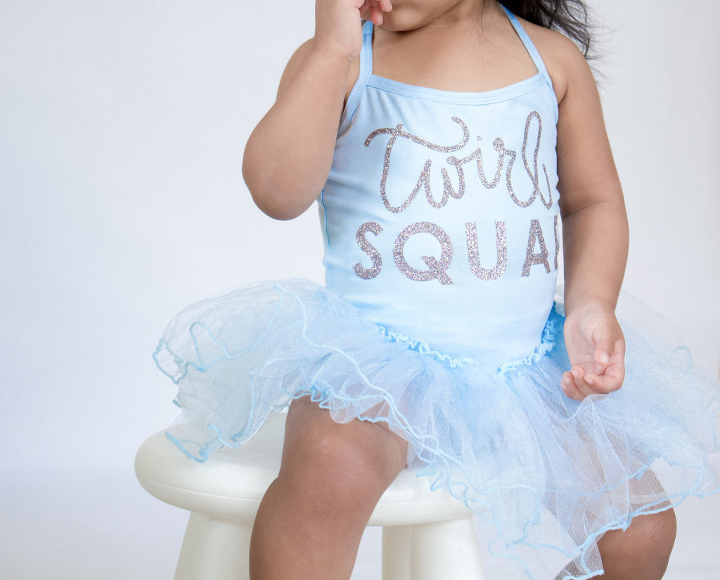 Twirl Squad Leotard Tutu Dress