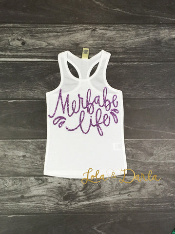 Merbabe Life tank for toddlers and girls