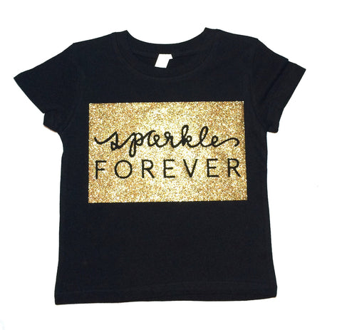 Sparkle Forever Toddler and Girls Sparkle T Shirt