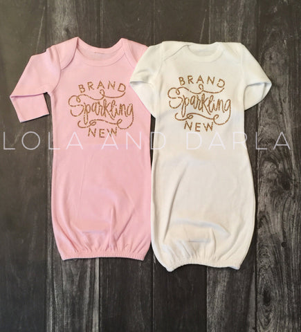 Brand Sparkling New infant baby gown