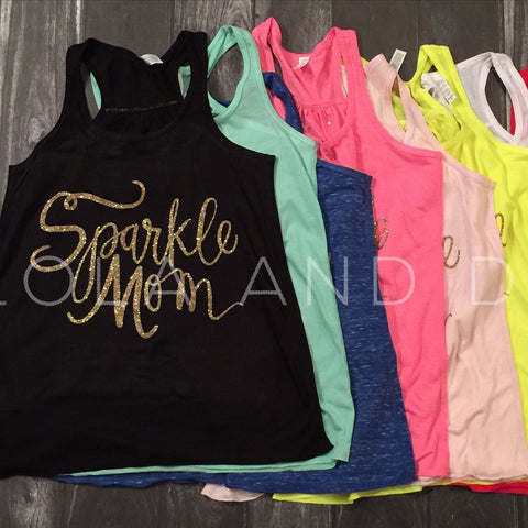 Sparkle Mom Women's Tank Top