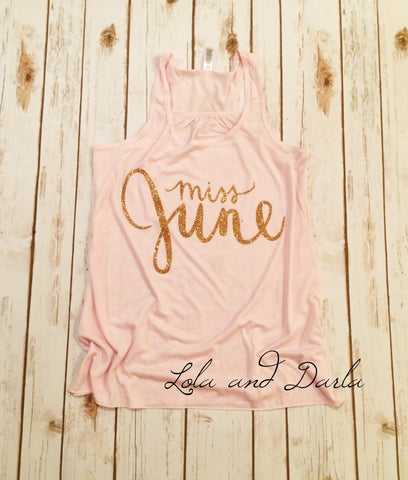 Miss June Women's Tank Top