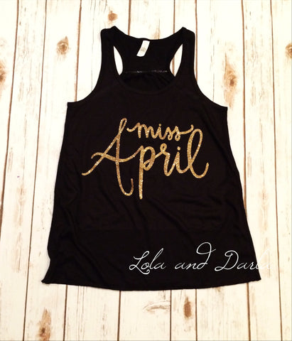 Miss April Women's Tank Top